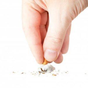 A cessé de fumer les changements de la personne