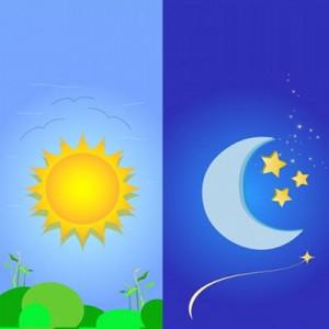 Script hypnotique - Le soleil et la lune - vaincre l'angoisse de séparation (allégorie pour enfant de neuf ans ou moins)