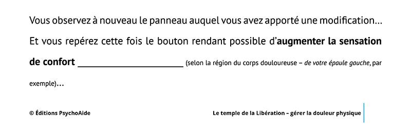 Script hypnotique - Le temple de la Libération - gérer la douleur physique (visualisation thérapeutique)