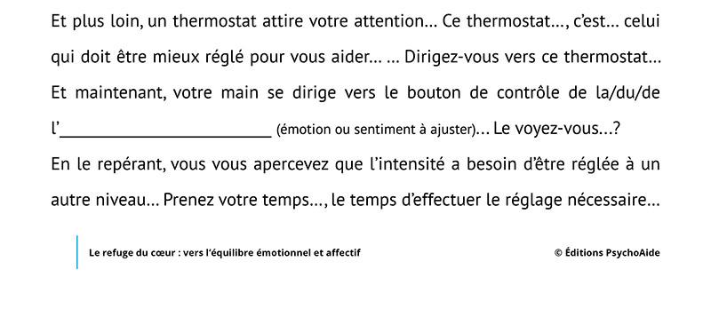 Script hypnotique - Le refuge du coeur - vers l'équilibre émotionnel et affectif (visualisation thérapeutique)